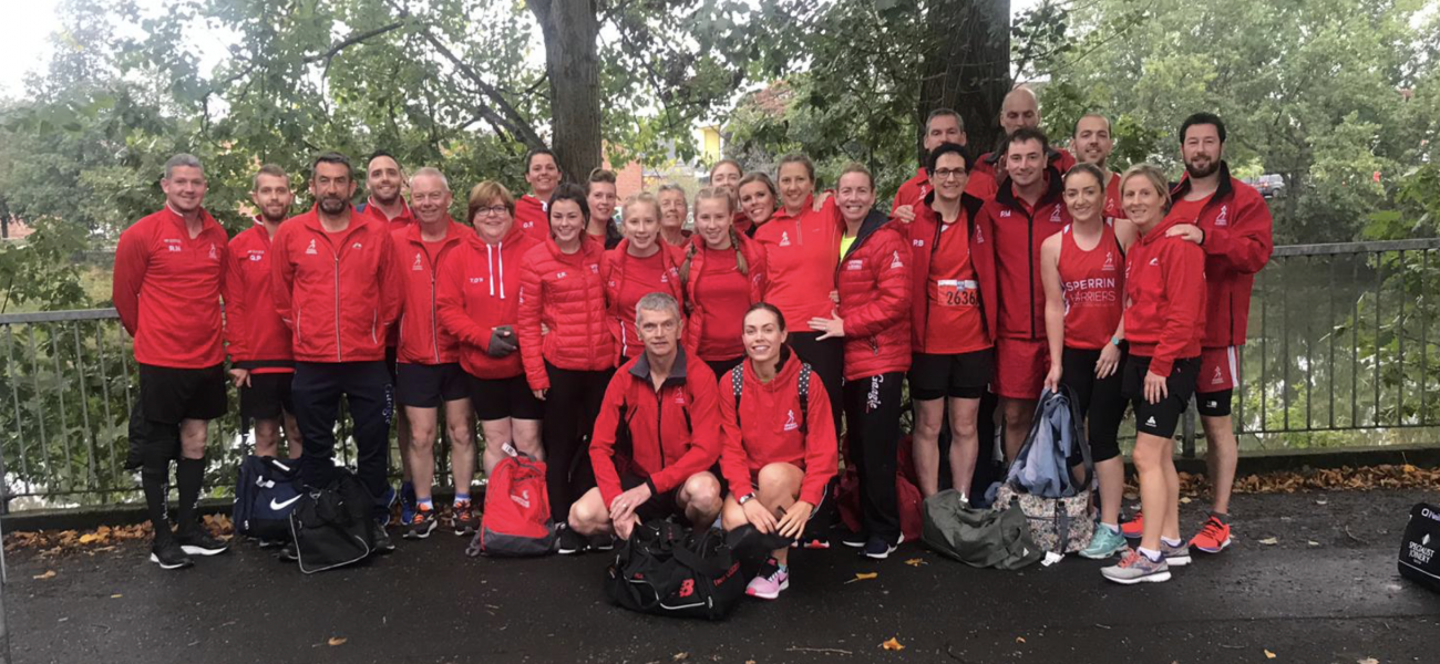 Sperrin Harriers at the Belfast Half Marathon