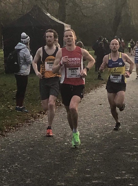 Brian Taggart en route to a PB Seeley Cup 10k