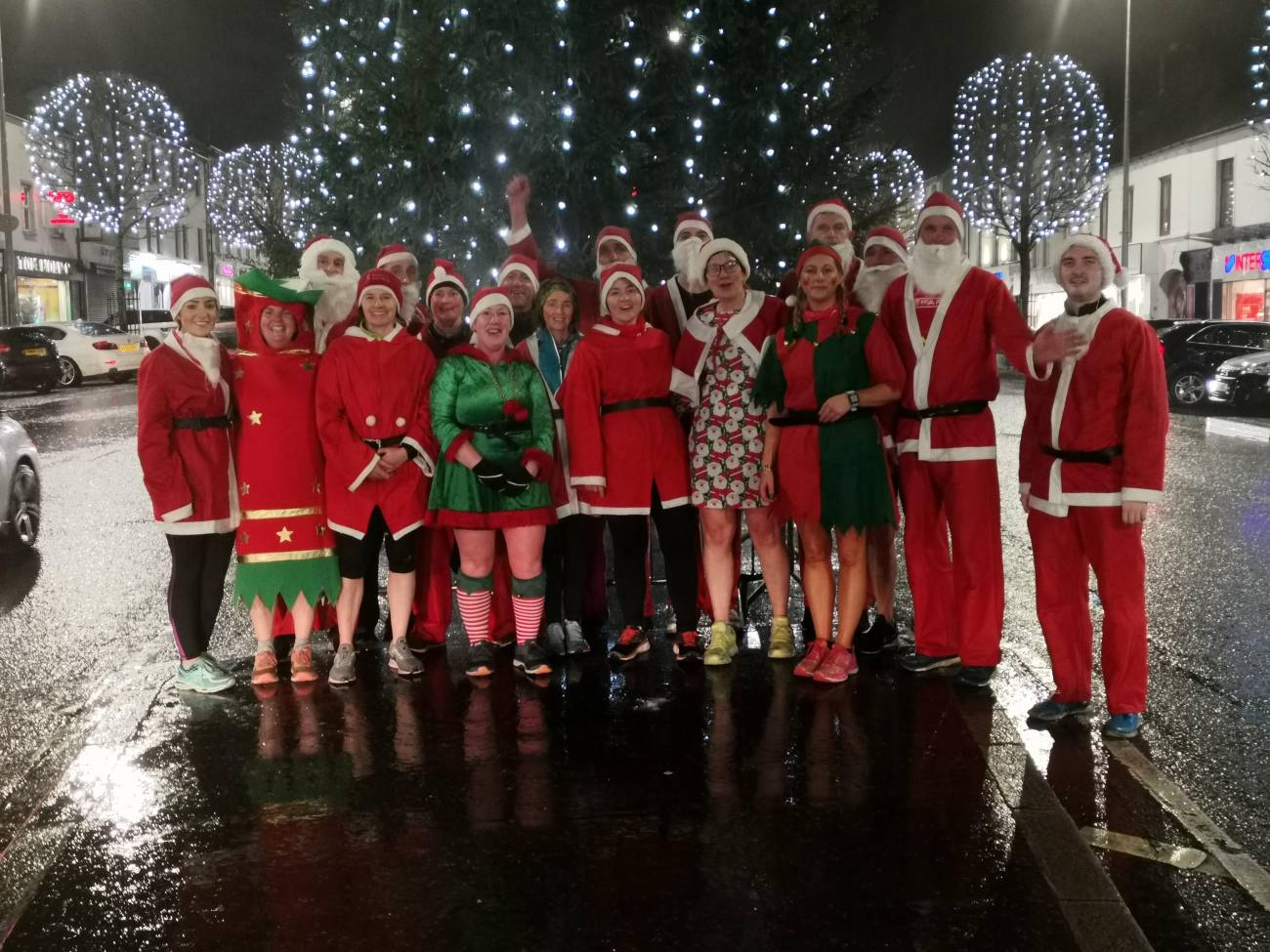 Sperrin Harriers Santa Run