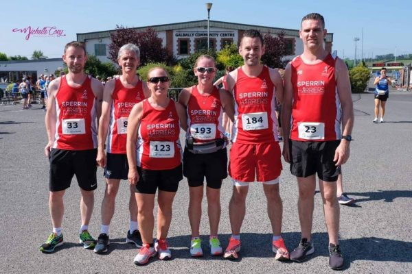 Harriers at Galbally 5 mile